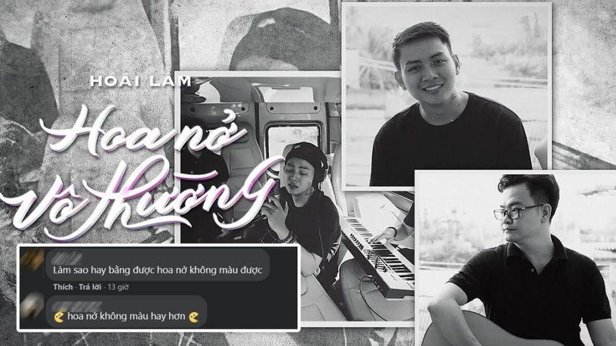 Hoài Lâm tái hợp Nguyễn Minh Cường, netizen chê bài mới không hay bằng Hoa nở không màu?