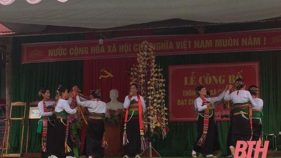 Xã Minh Sơn đẩy mạnh xây dựng đời sống văn hóa cơ sở