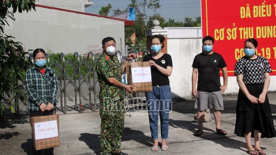 Bắc Giang: 2.074 bệnh nhân nhiễm Covid-19 được ra viện