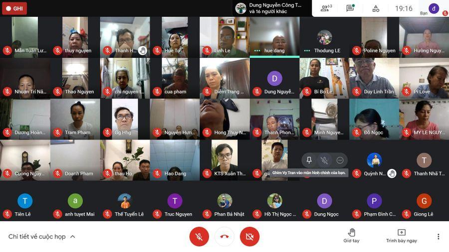 Chùa Long Phước khai giảng lớp học trực tuyến về thiền tập căn bản