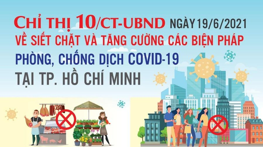Những điều người dân cần biết về Chỉ thị 10 của Thành phố Hồ Chí Minh