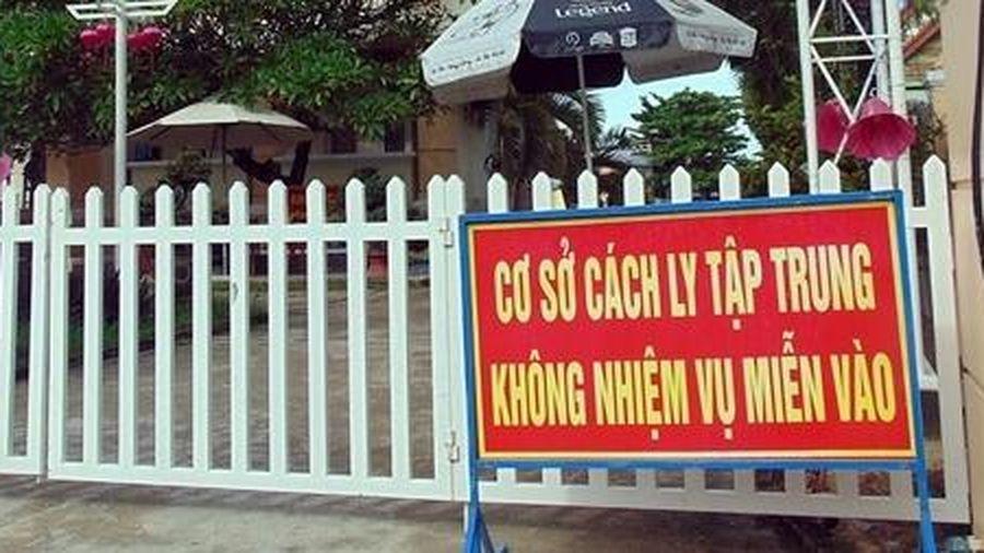 Quảng Ngãi cách ly người về từ TP Hồ Chí Minh và Đà Nẵng