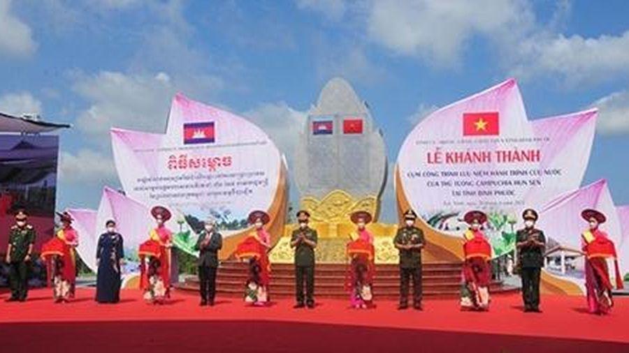 Khánh thành công trình lưu niệm hành trình cứu nước của Thủ tướng Campuchia Hun Sen