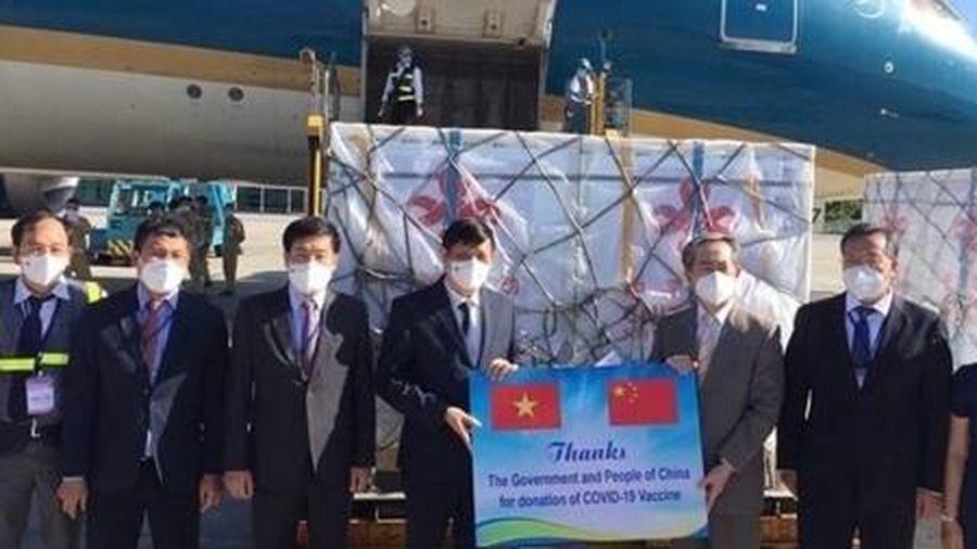 500.000 liều vaccine Vero-Cell của Sinopharm đã đến Việt Nam