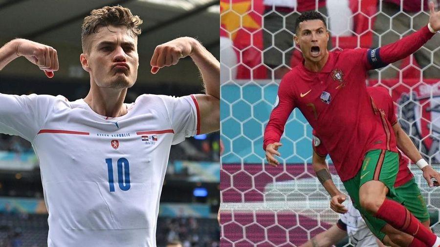 BXH Vua phá lưới EURO 2021: Ronaldo đua song mã với Patrik Schick