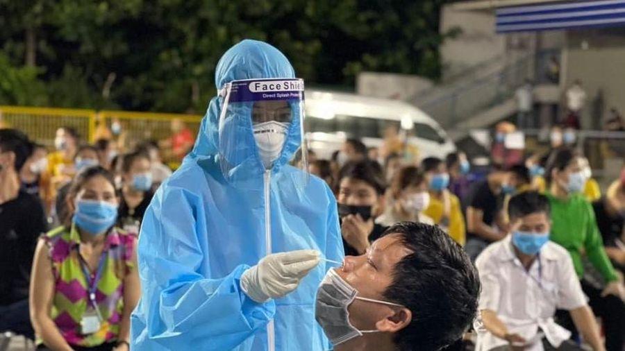 Nghệ An có ca dương tính SARS-CoV-2 mới là bé trai 6 tuổi