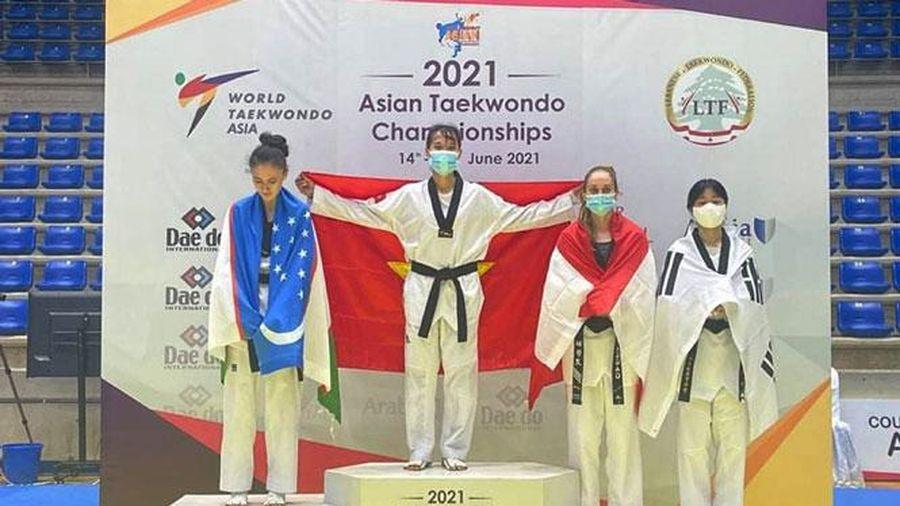 Trương Thị Kim Tuyền và hành trình đến Olympic Tokyo 2020