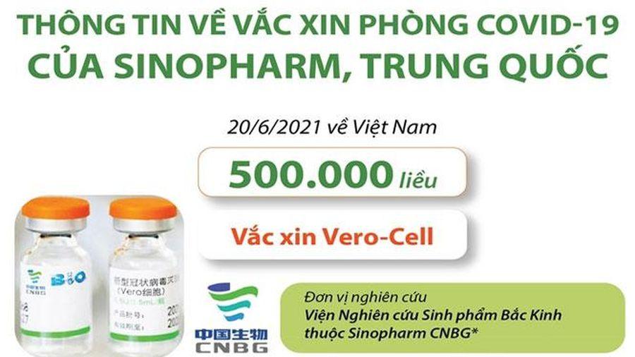 Thông tin về vắc xin phòng Covid-19 của Sinopharm, Trung Quốc