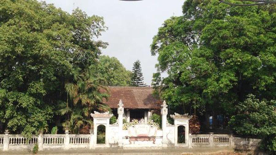 Tái sử dụng tối đa vật liệu gốc của Di tích Quốc gia đình Phú Lương, huyện Ứng Hòa