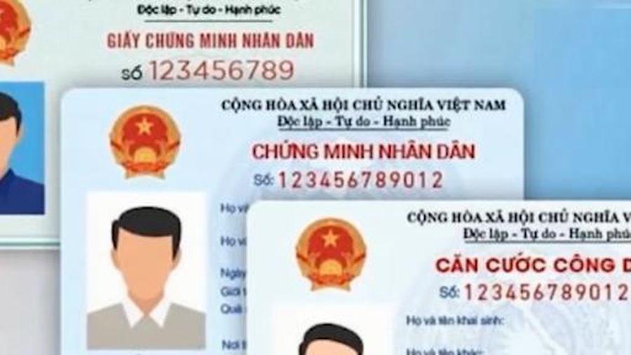 Phương án thu hồi thẻ căn cước công dân cũ, chứng minh nhân dân