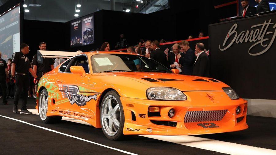 Toyota Supra trong phim 'Fast & Furious' có giá hơn nửa triệu USD