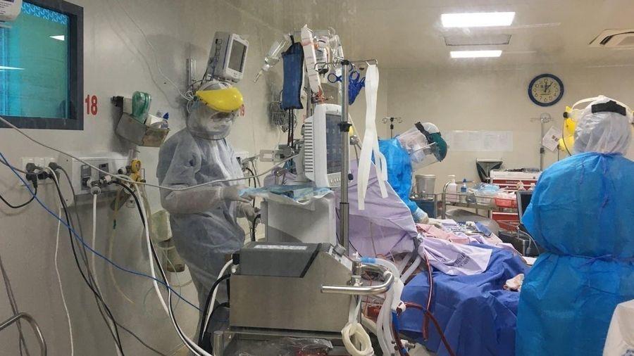 44 bệnh nhân Covid-19 nguy kịch