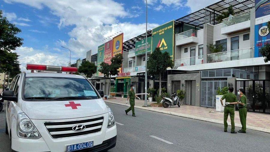 Hai người chết trong Công ty địa ốc Khang An
