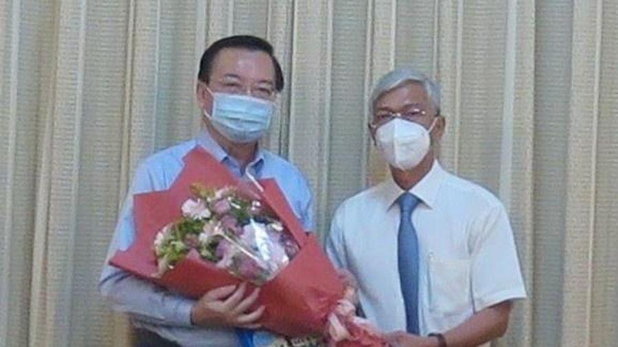 Ông Lê Hồng Sơn nhận công tác tại Thành ủy TP.HCM
