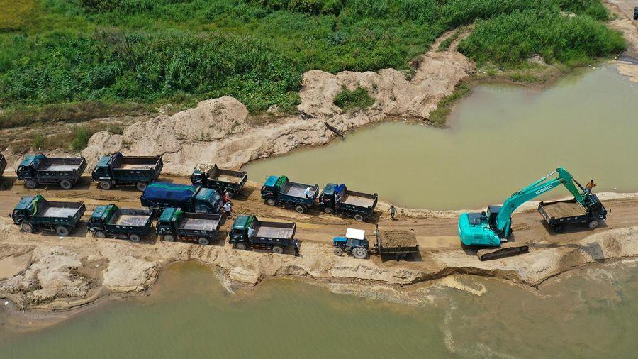 Quảng Ngãi sẽ cho đấu giá các mỏ cát trên sông