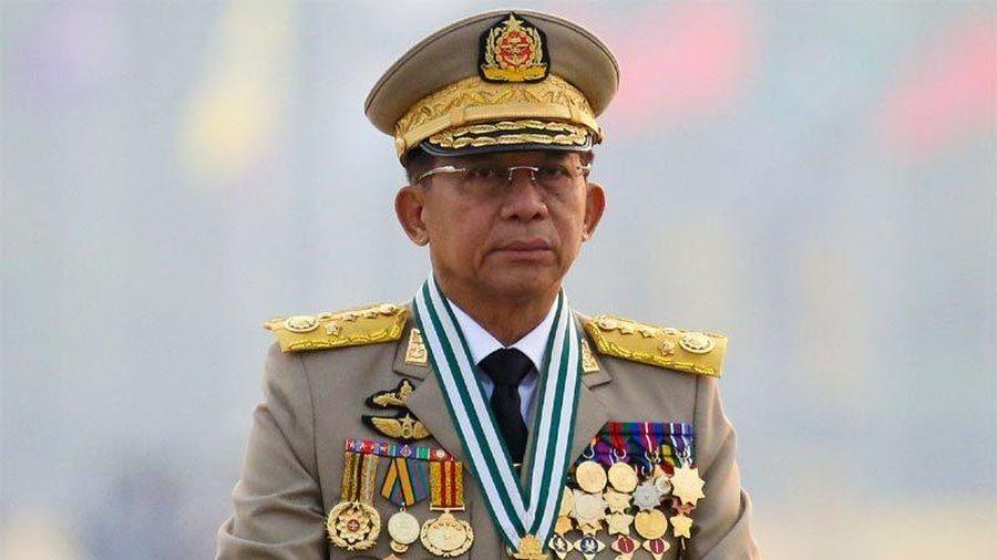 Thống tướng Myanmar thăm Nga