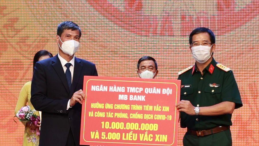 MB chung tay cùng Hà Nội đẩy lùi dịch COVID-19