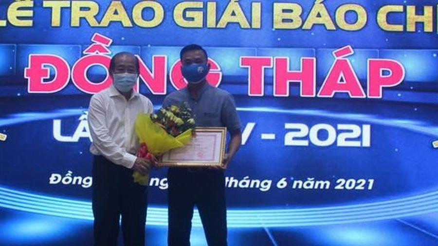 Báo Người Lao Động đoạt giải A Giải Báo chí Đồng Tháp