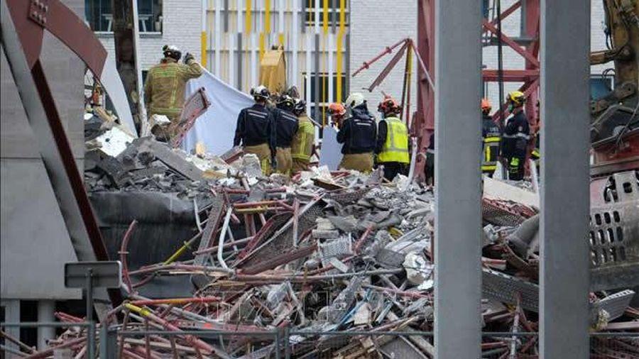 Bỉ: Sập một phần công trình xây dựng trường học, 5 thợ xây thiệt mạng