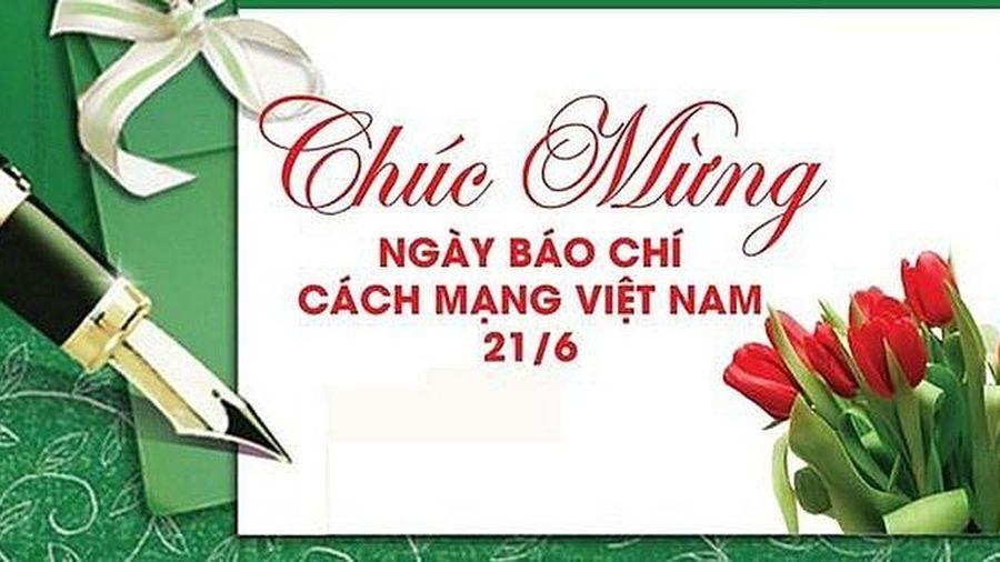 Sao Việt chúc mừng ngày Báo chí cách mạng Việt Nam