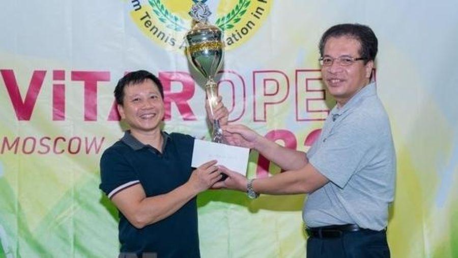 Người Việt tại Nga tổ chức giải quần vợt ViTAR Open Hè 2021