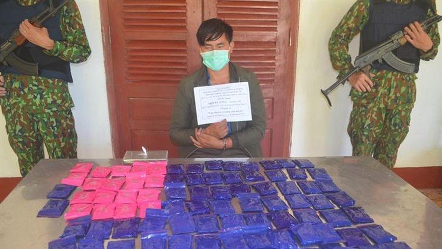 Nghệ An: Phá Chuyên án NA 621 thu giữ 1 bánh heroin và 18.000 viên ma túy tổng hợp