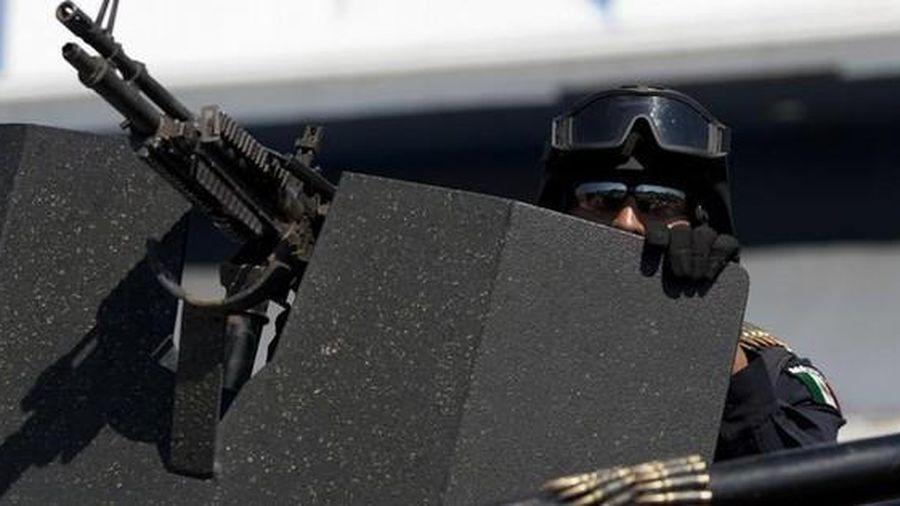 Xả súng hàng loạt ở thị trấn Mexico giáp biên giới Mỹ, 18 người thiệt mạng