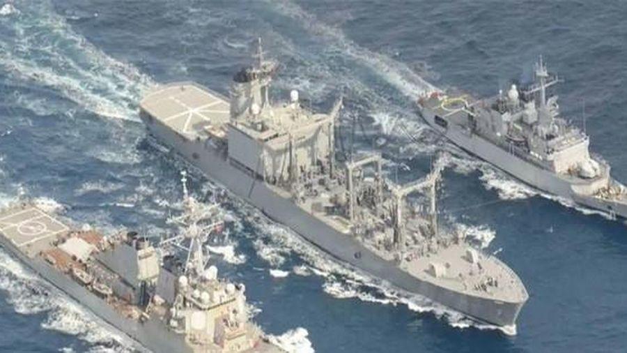 Nhật thúc giục châu Âu tăng hiện diện quân sự ở châu Á để đối phó Trung Quốc