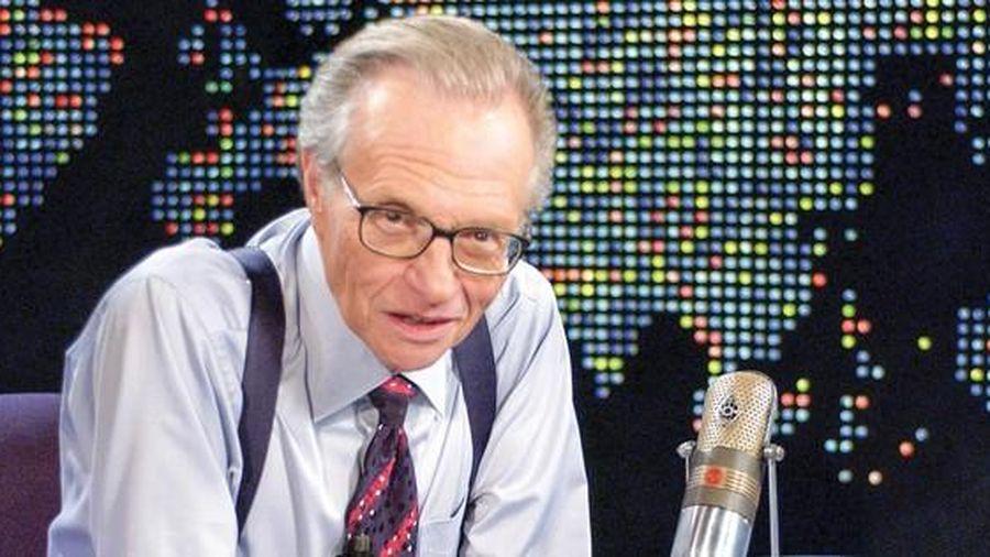 Ông hoàng truyền thông Larry King: Tôi thích nghe tiếng người