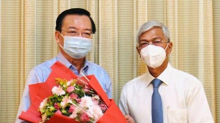 Điều động nguyên Giám đốc Sở GD&ĐT Lê Hồng Sơn về Thành ủy TPHCM