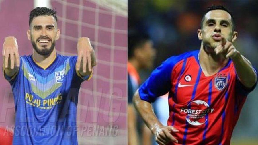 Malaysia nhập tịch hai cầu thủ Nam Mỹ, chờ đấu đội tuyển Việt Nam tại AFF Cup