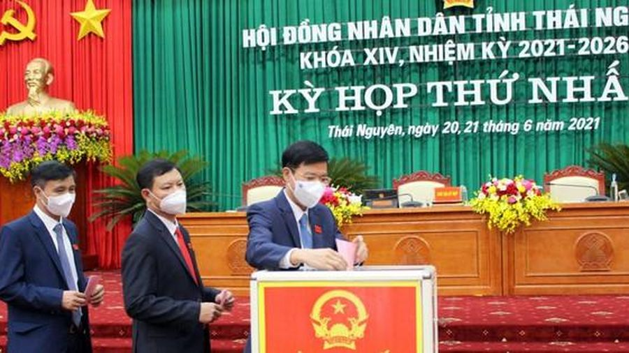 Ông Trịnh Việt Hùng tái đắc cử Chủ tịch UBND tỉnh Thái Nguyên