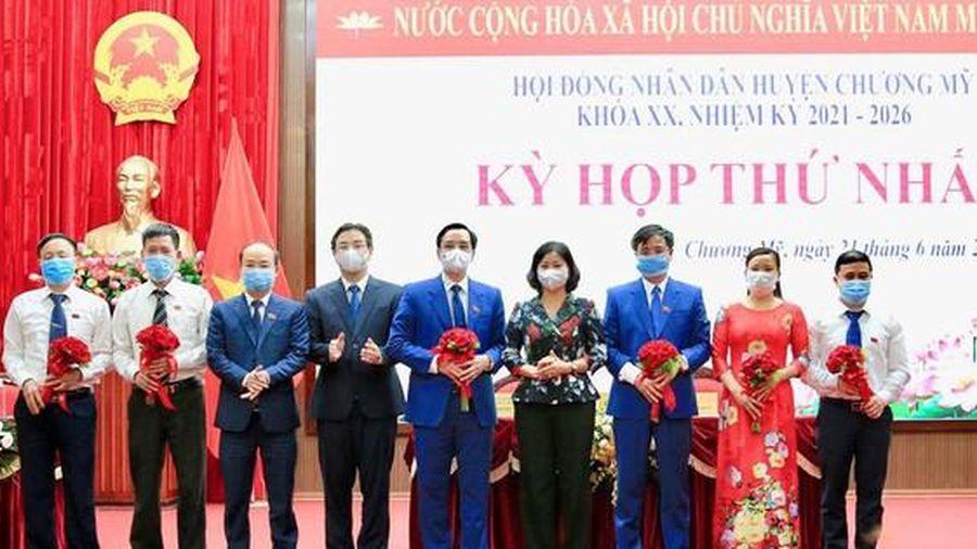Hà Nội: Ông Nguyễn Đình Hoa tái cử Chủ tịch huyện Chương Mỹ