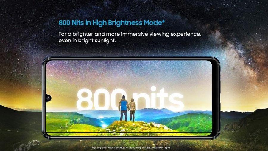 Samsung Galaxy M32 chính thức ra mắt: màn hình AMOLED 90Hz và pin 6.000 mAh