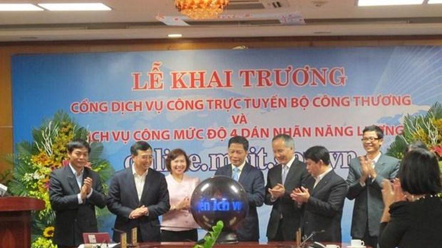 Đăng ký hợp đồng qua dịch vụ công trực tuyến Bộ Công Thương tăng 76%