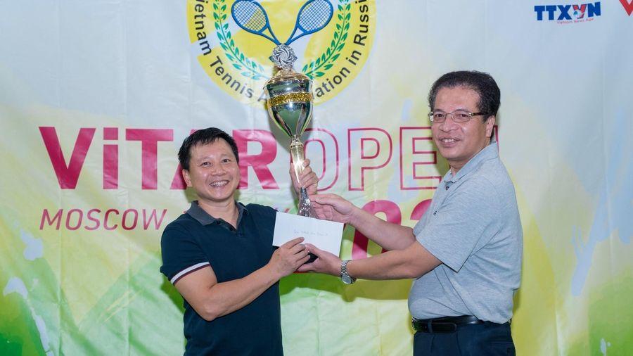 Giải quần vợt ViTAR Mở rộng Hè 2021 của người Việt tại Liên bang Nga