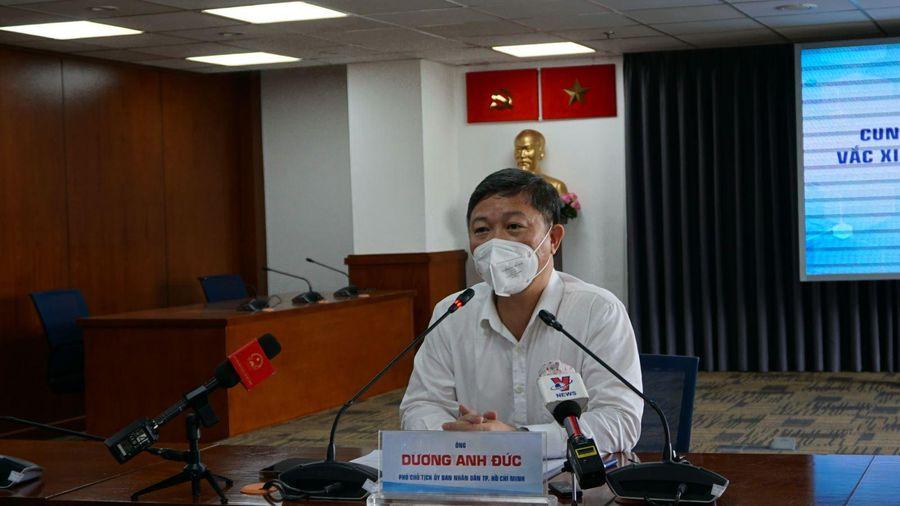 Dự kiến sẽ có hơn 1,5 triệu liều vaccine về TP Hồ Chí Minh mỗi tháng