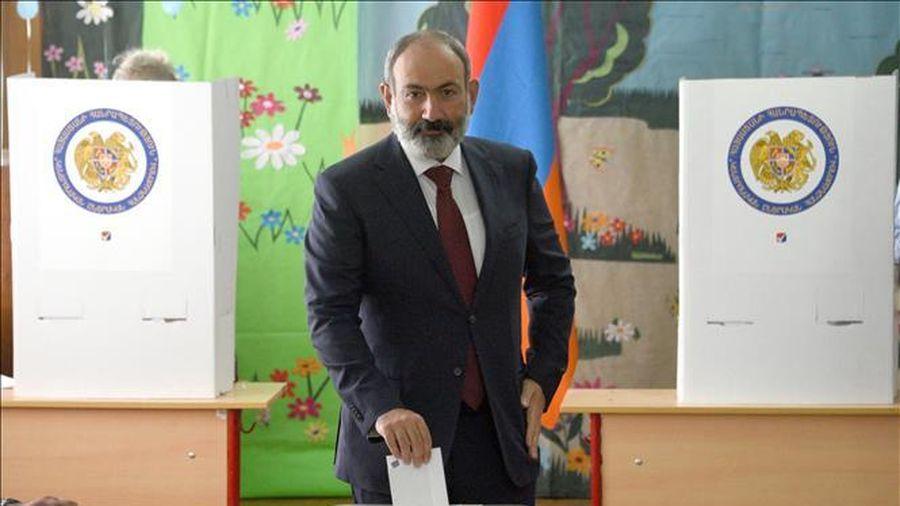 Bầu cử Quốc hội Armenia: Đảng 'Khế ước dân sự' giành chiến thắng