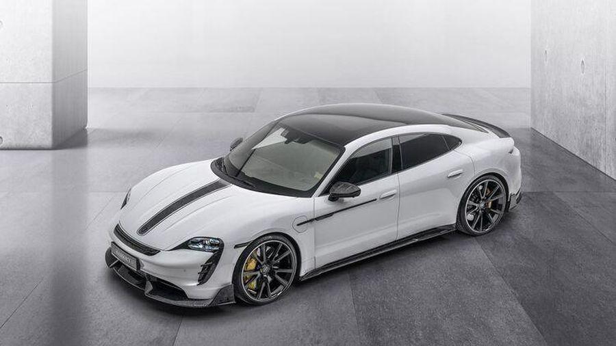Porsche Taycan bản độ Mansory mạnh mẽ và cá tính hơn