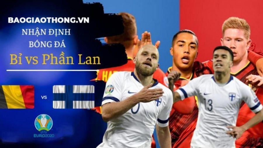 Nhận định, dự đoán kết quả Phần Lan vs Bỉ, bảng B EURO 2020