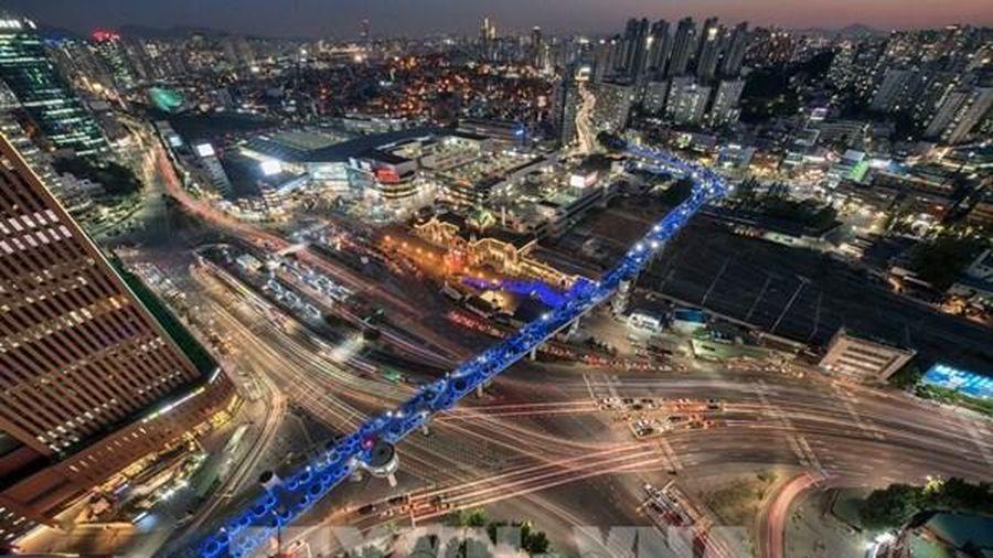 Hàn Quốc giới thiệu 20 dịch vụ công nghệ kết nối báo trước rủi ro trên đường