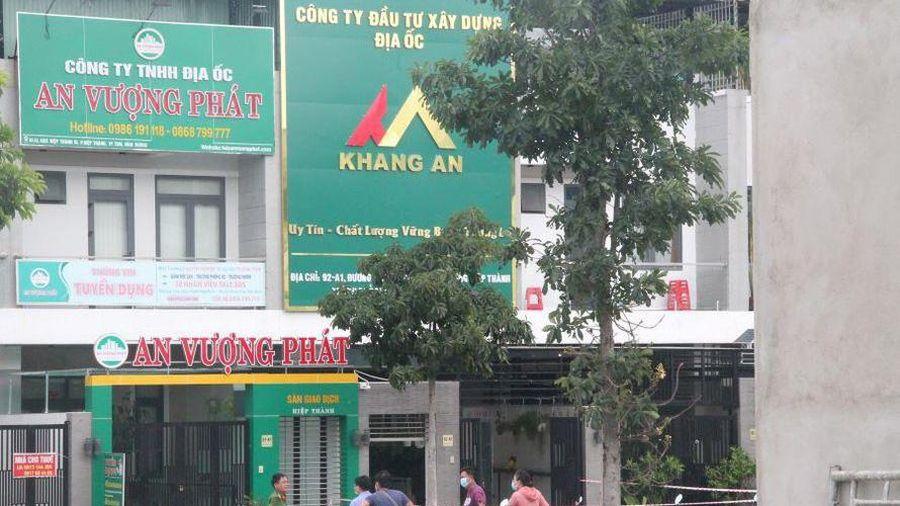 Hai người chết bất thường trong công ty địa ốc Khang An ở Bình Dương