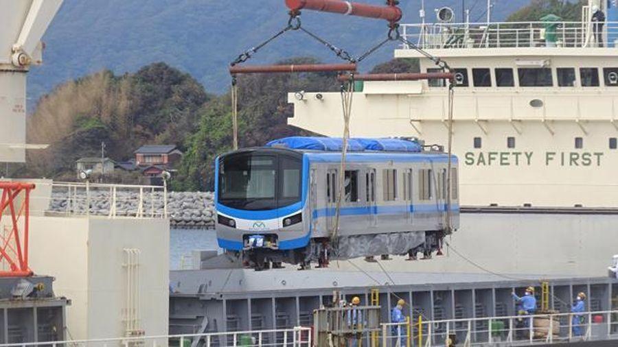 TP.HCM đón nhận thêm hai đoàn tàu thuộc tuyến metro số 1