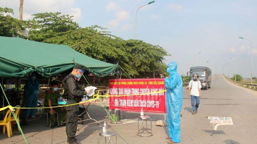 Huyện Hiệp Hòa (Bắc Giang) chuyển sang giãn cách xã hội từ 12 giờ ngày 21/6