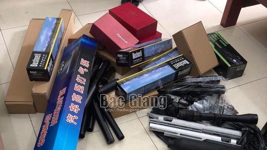 Bắc Giang: Phát hiện đối tượng kinh doanh 1.316 linh kiện lắp súng tự chế