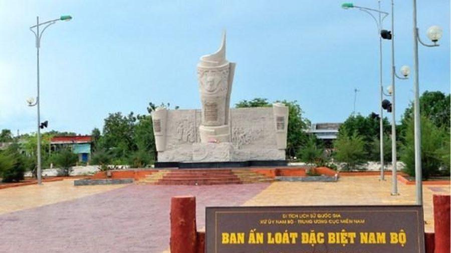 Cà Mau: Phê duyệt đồ án Quy hoạch chi tiết xây dựng Khu di tích Bia Ấn loát đặc biệt Nam Bộ