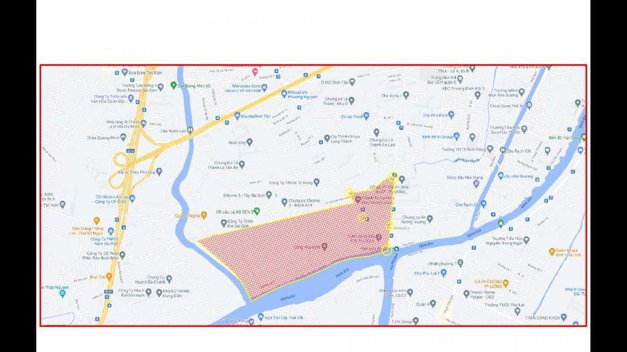 Quận 8, TP.HCM đề nghị phong tỏa một khu phố