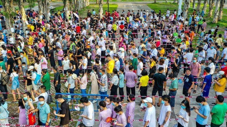Tỉnh Quảng Đông của Trung Quốc vật lộn chống biến thể Delta