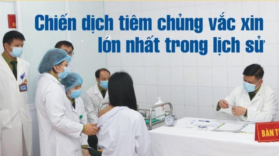 Điều đặc biệt trong chiến dịch tiêm chủng toàn quốc