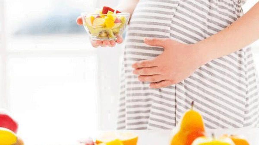 Giảm nguy cơ biến chứng thai kỳ nếu thực hiện chế độ ăn uống lành mạnh